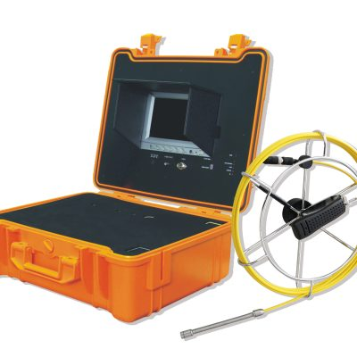 "3188 Forbest Base inspection System Featuring 30ft Rod & Reel, 7"" Display Monitor, Heavy Duty Carrying case, battery for 4 hours, video recording to SD card."