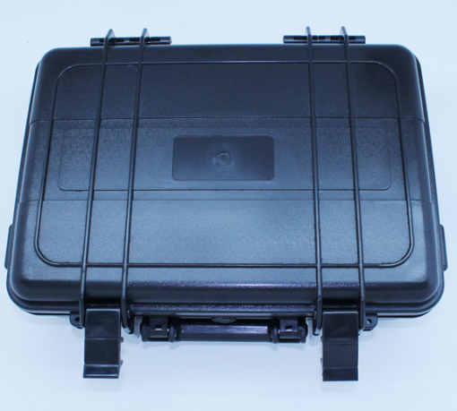 Image of Standard Storage Case Exterior for our PVRS model Videoscopes. This is a conveniently mobile, light weight storage case that holds up to standard wear and tear.